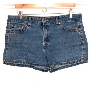 Levi's Superlow Stretch Shorts